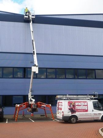 High Level Access Equipment by Enfield Roofing